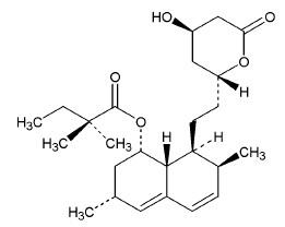 simvastatiin structure