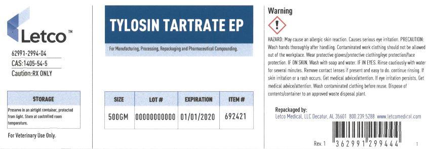 Tylosin Tartrate EP