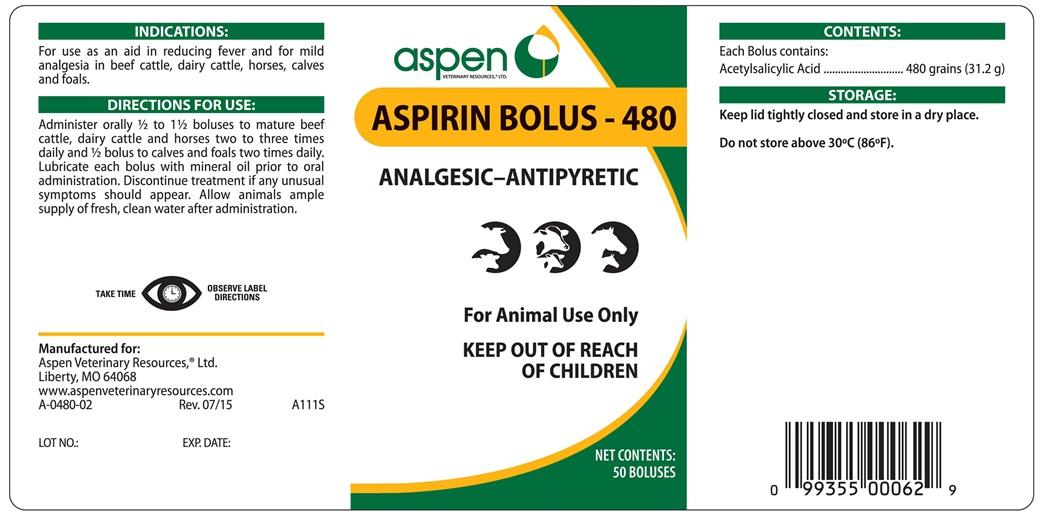 AS-Aspirin 480 Bolus