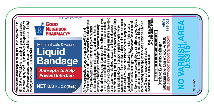 Liquid Bandage label