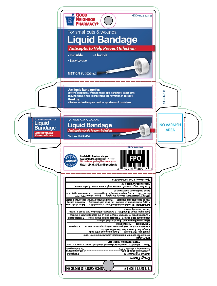Liquid Bandage card