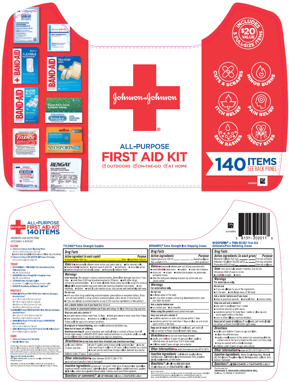 PRINCIPAL DISPLAY PANEL - Kit Package Label