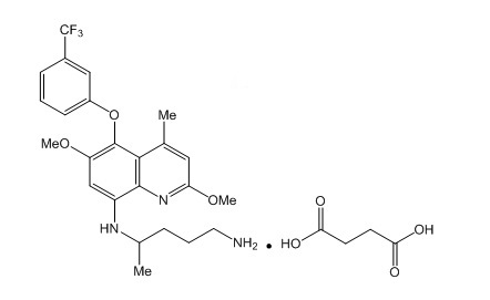 tafenoquine chemical structure clean