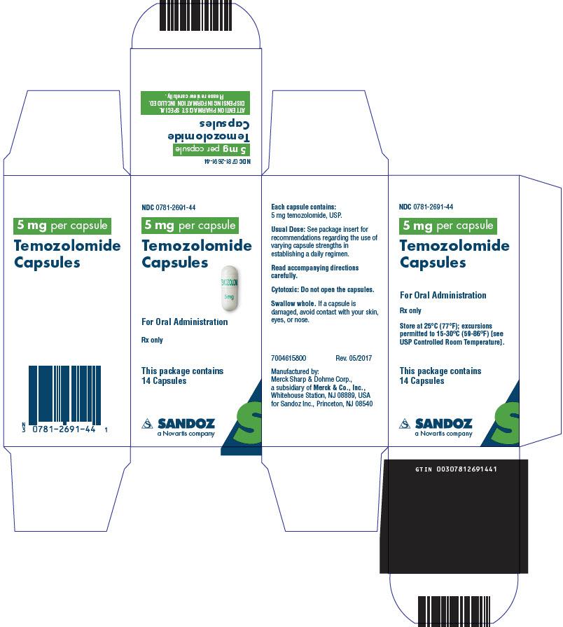 PRINCIPAL DISPLAY PANEL - 5 mg Capsule Bottle Carton