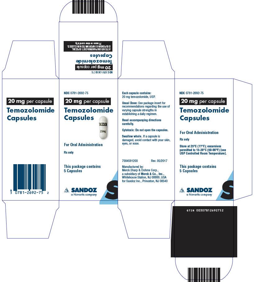 PRINCIPAL DISPLAY PANEL - 20 mg Capsule Bottle Carton