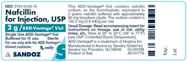 2g ADD-Vantage vial Sandoz