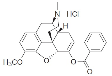 Benzhydrocodone chemical structure