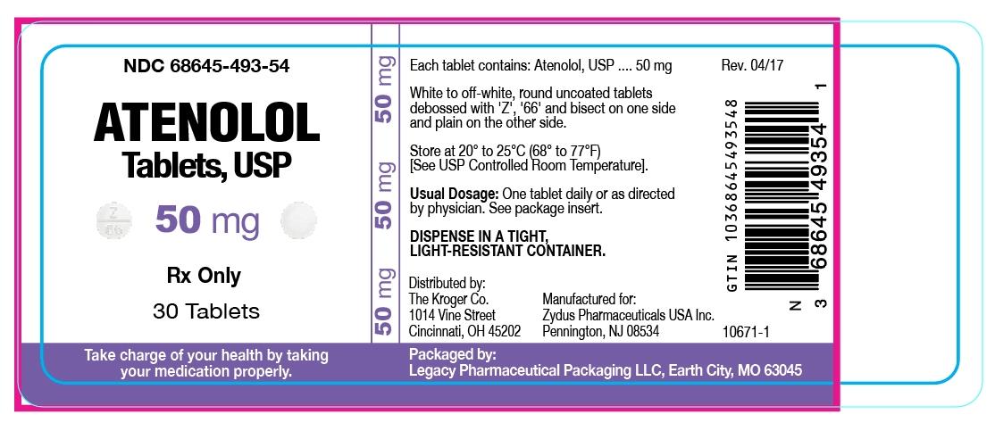 Atenolol Tablets, USP 50mg