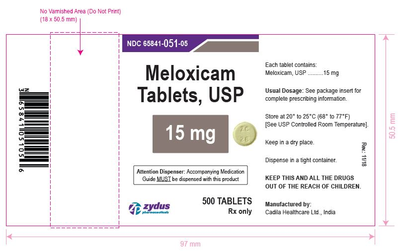 Meloxicam Tablets, 15 mg