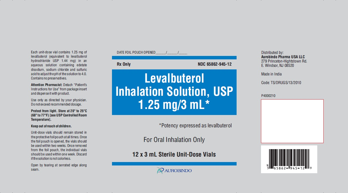 PACKAGE LABEL-PRINCIPAL DISPLAY PANEL - 1.25 mg/3 mL - Pouch Label