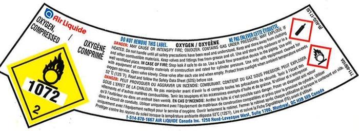 Air Liquide Oxygen