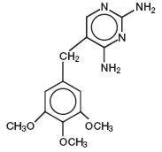 Trimethoprim Chemical Structure