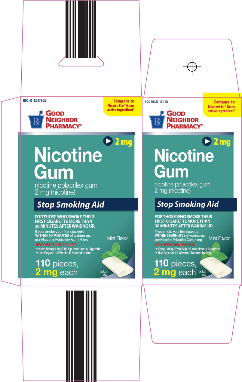 Nicotine Gum Carton Image 1