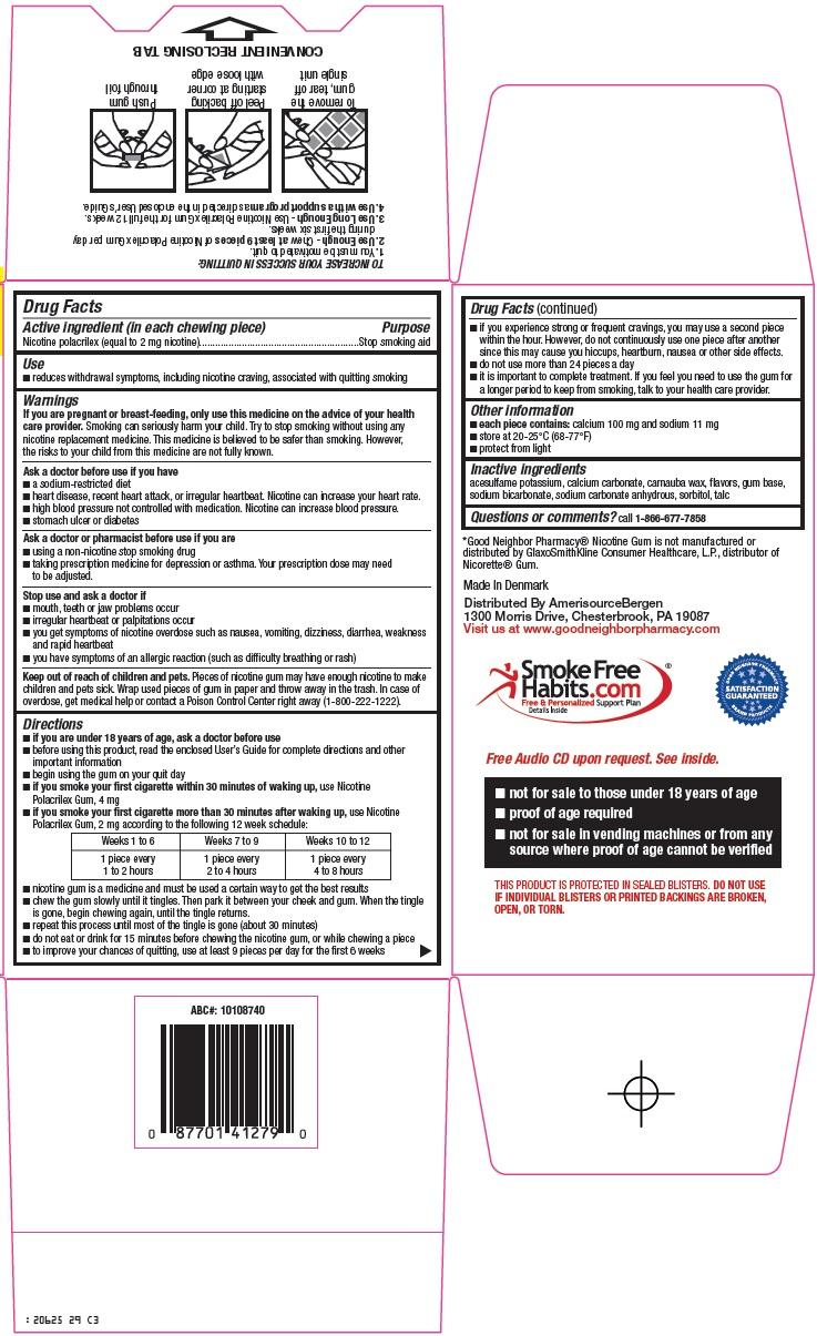 Nicotine Gum Carton Image 2