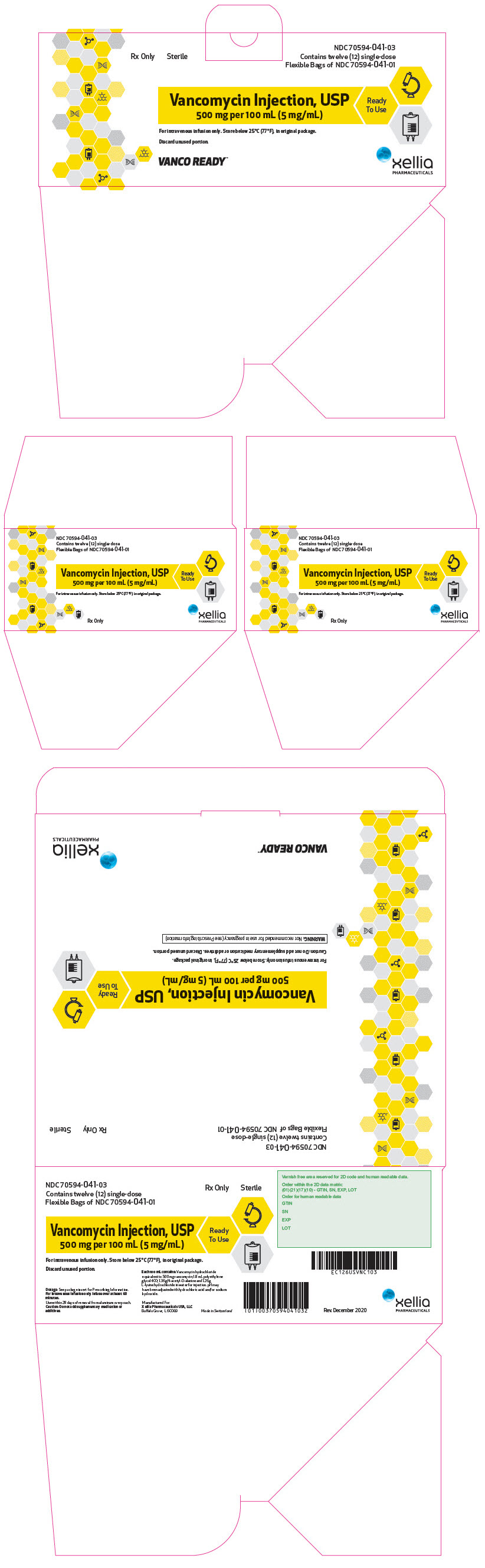 PRINCIPAL DISPLAY PANEL - 200 mL Bag Carton