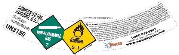oxygen95 carbondioxide5 mix