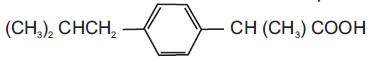 ibuprofen-structure