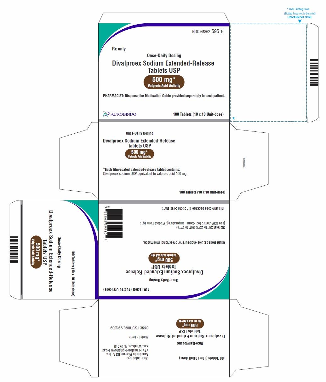 PACKAGE LABEL-PRINCIPAL DISPLAY PANEL - 500 mg Blister Carton (10 x 10 Unit-dose)