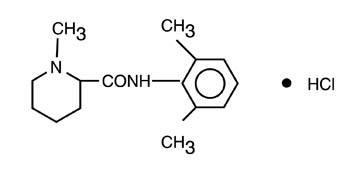 structural formula carbocaine