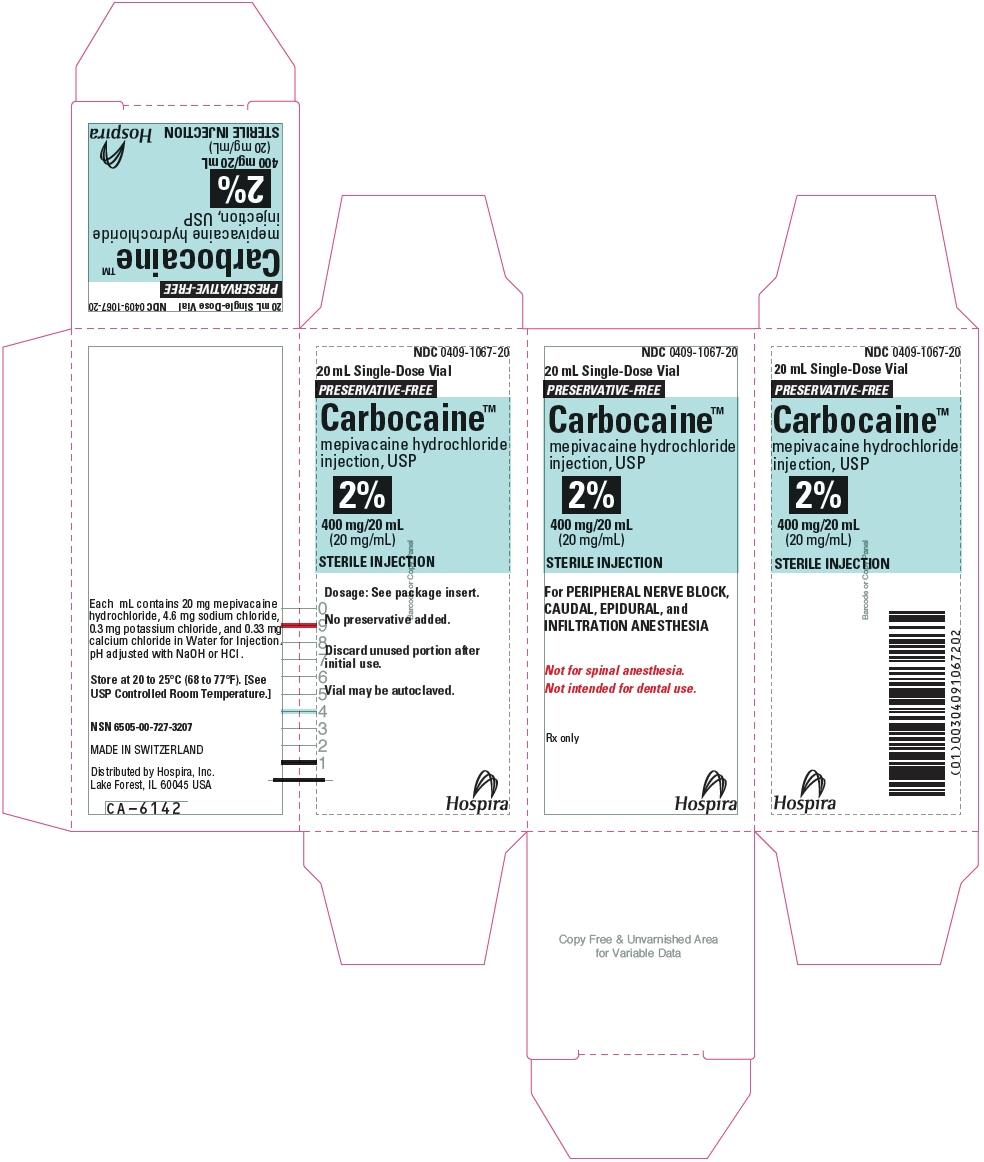 PRINCIPAL DISPLAY PANEL - 400 mg/20 mL Vial Carton