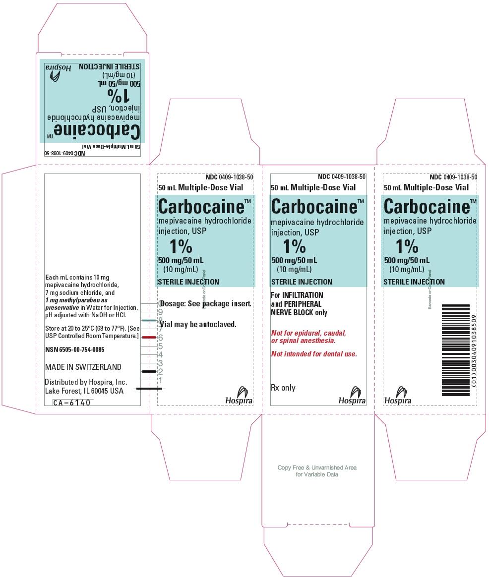 PRINCIPAL DISPLAY PANEL - 500 mg/50 mL Vial Carton