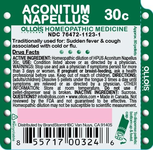 Aconitum Napellus 30c
