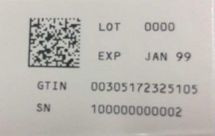 2340-10 Serialization Label