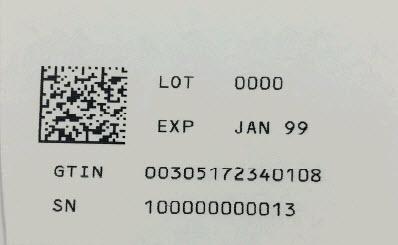 2310-05 - Serialization Label
