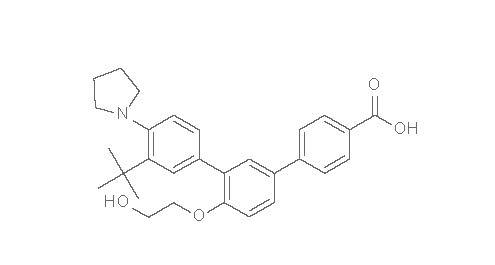 trifarotene chemical structure