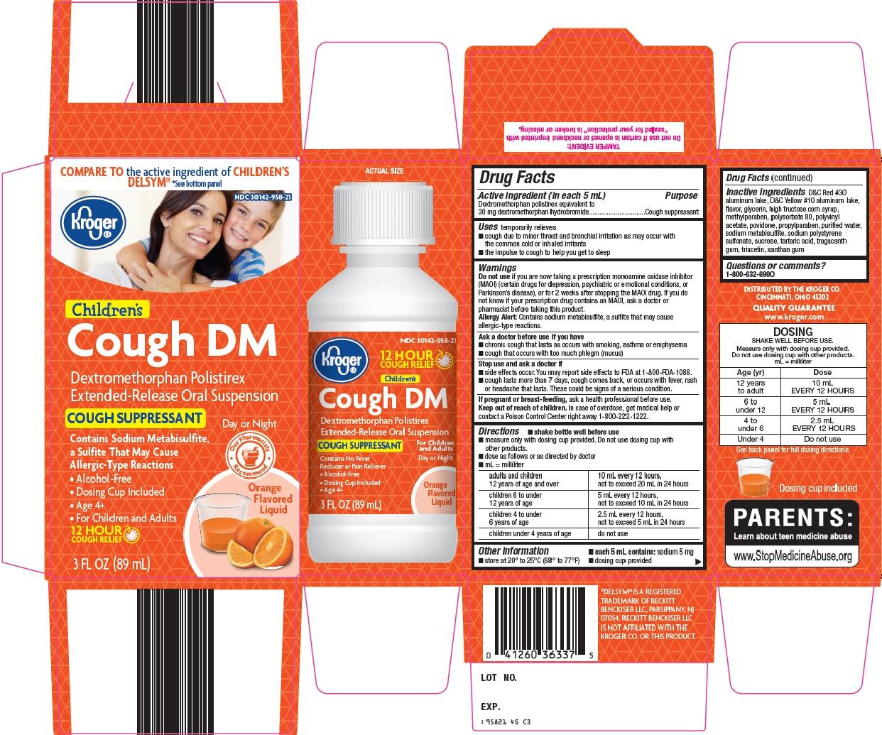 Kroger Cough DM image