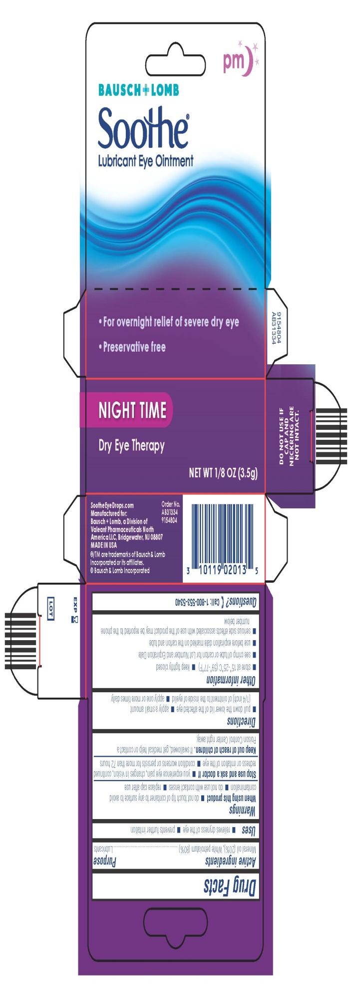 Soothe Night Time Carton