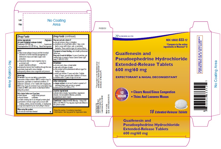 PACKAGE LABEL-PRINCIPAL DISPLAY PANEL - 600 mg/60 mg (18 Tablet Carton Label)