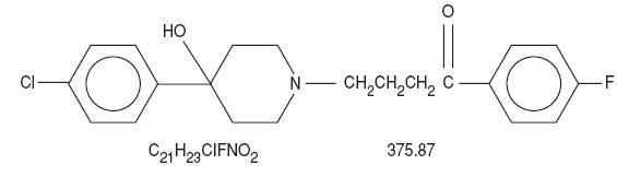 Structured formula for haloperidol