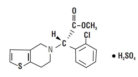 spl-clopidogrel-chemical-structure