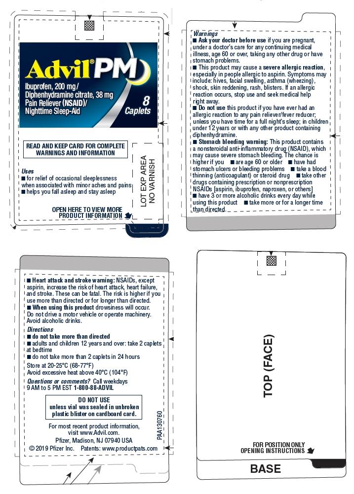 PRINCIPAL DISPLAY PANEL - 8 Caplet Vial Label