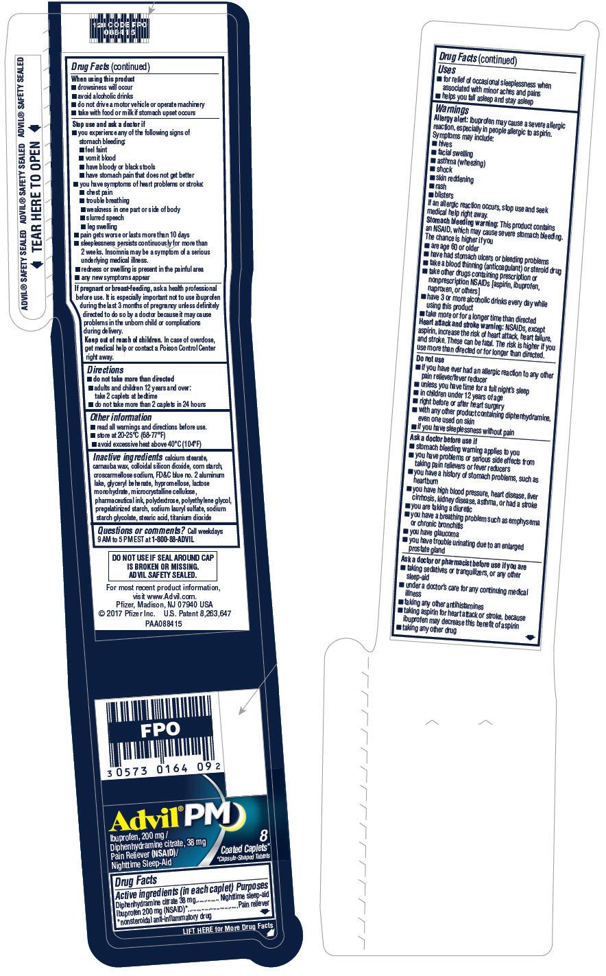 PRINCIPAL DISPLAY PANEL - 8 Caplet Vial - Loose