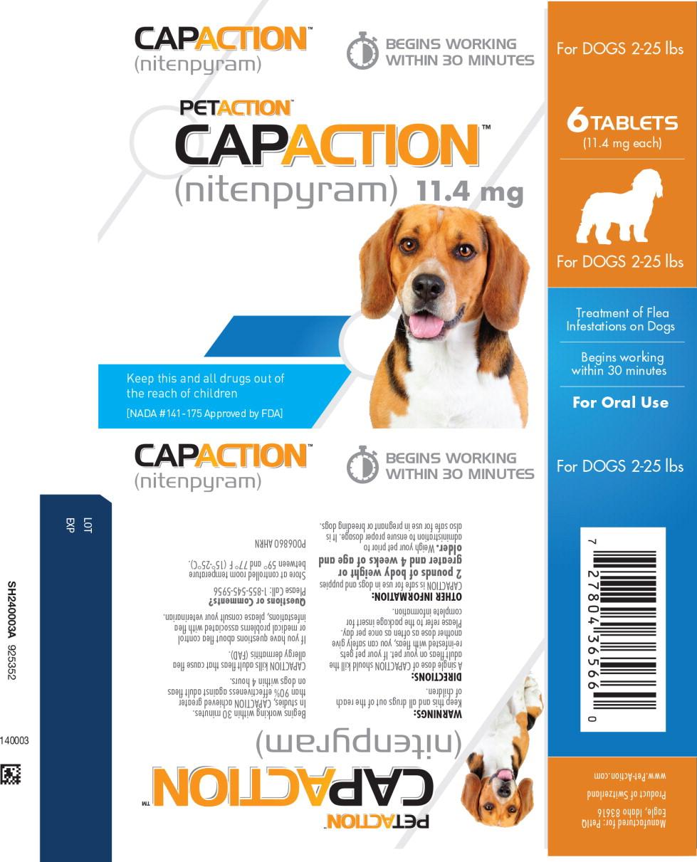 Principal Display Panel - Capaction 11.4 mg Dog Primary Blister Label