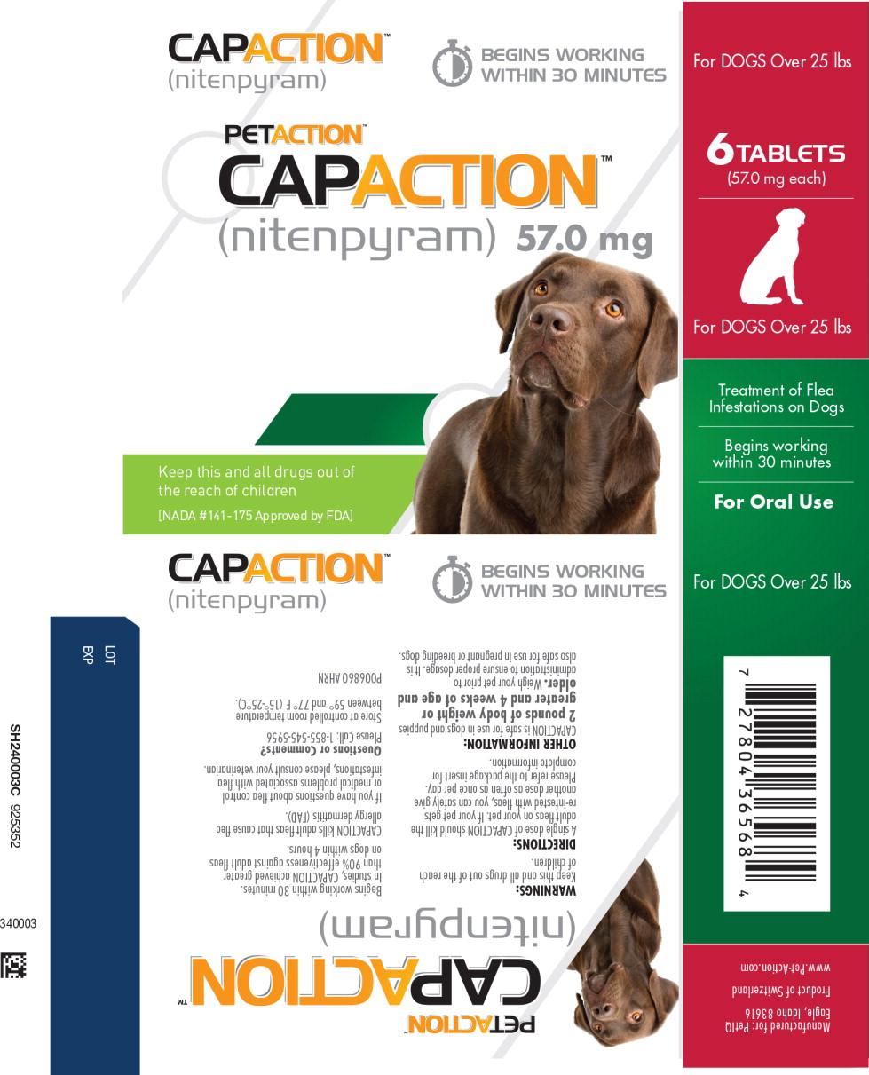 Principal Display Panel - Capaction 57 mg Blister Label