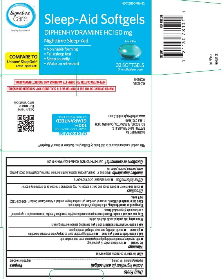 Diphenhydramine HCL 50 mg