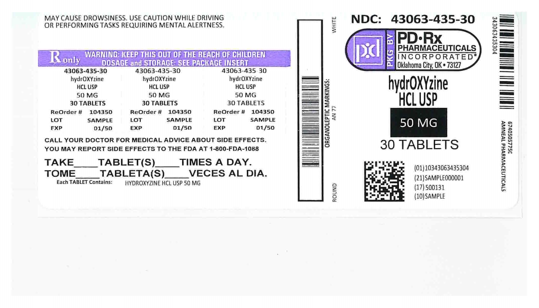 43063435 Label