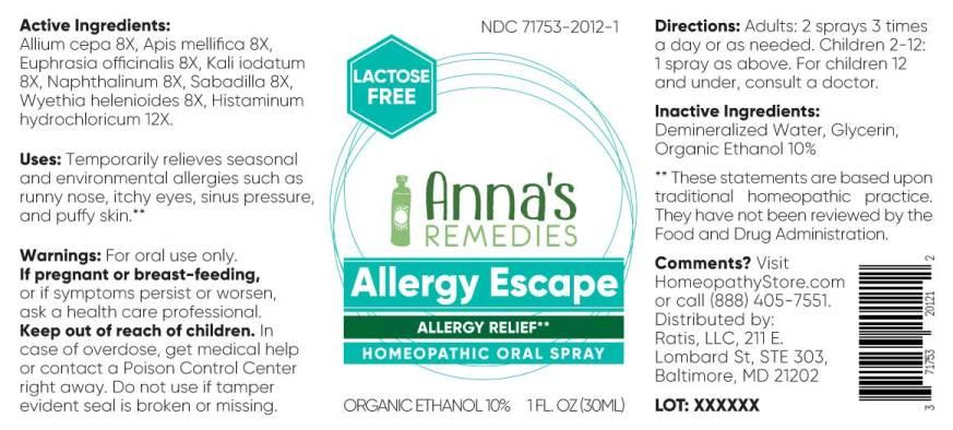 Allergy Escape