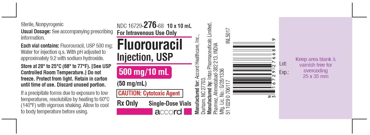 PRINCIPAL DISPLAY PANEL - 500 mg/10 mL Vial-Carton