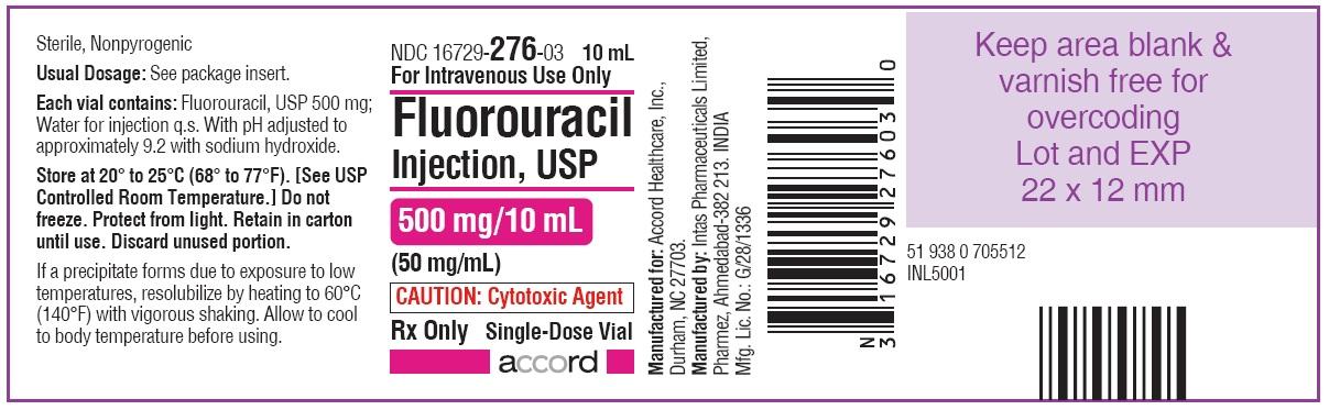 PRINCIPAL DISPLAY PANEL - 500 mg/10 mL Vial-Label