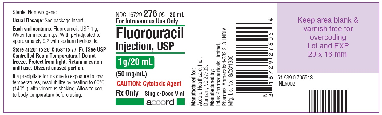 PRINCIPAL DISPLAY PANEL -1 g/20 mL Vial Label
