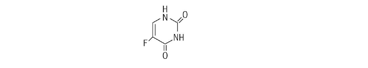 fluorouracil structure