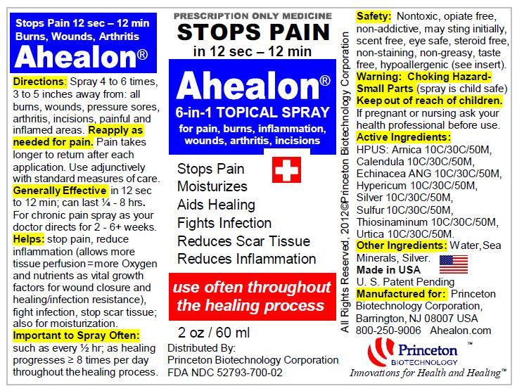 Ahealon Label