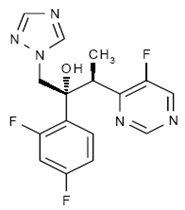 Voriconazole Structural Formula