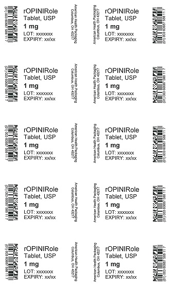 1 mg Ropinirole Tablet Blister