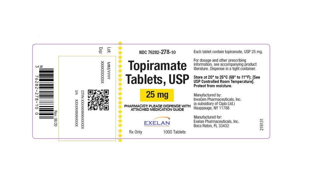 PACKAGE LABEL-PRINCIPAL DISPLAY PANEL - 25 mg (60 Tablets Bottle)