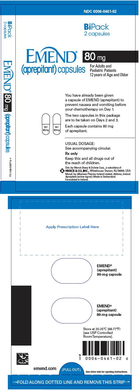 PRINCIPAL DISPLAY PANEL - 80 mg Capsule Dose Pack